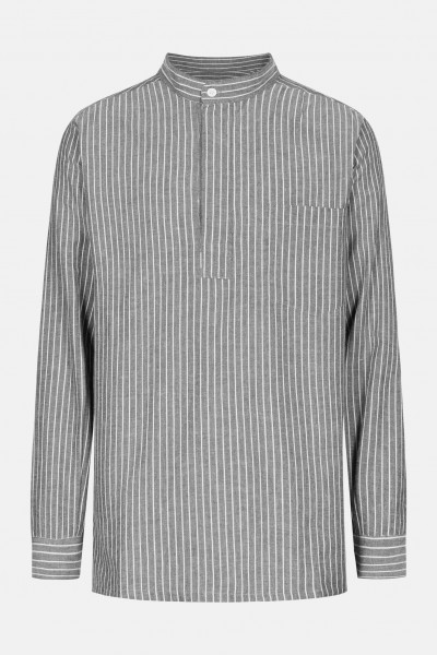 Eisenhans Fischerhemd grau