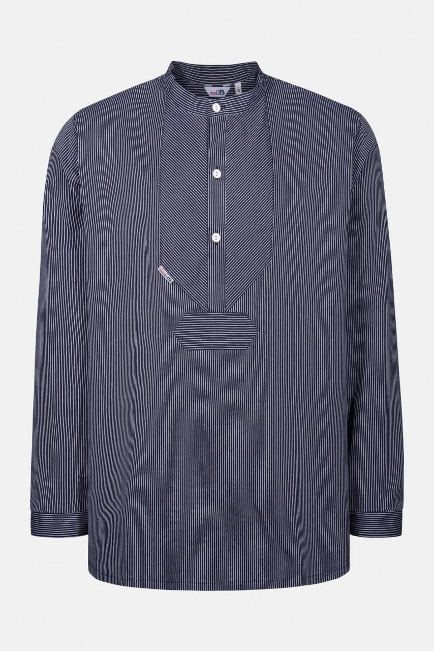 Fischerhemd Original schmal gestreift