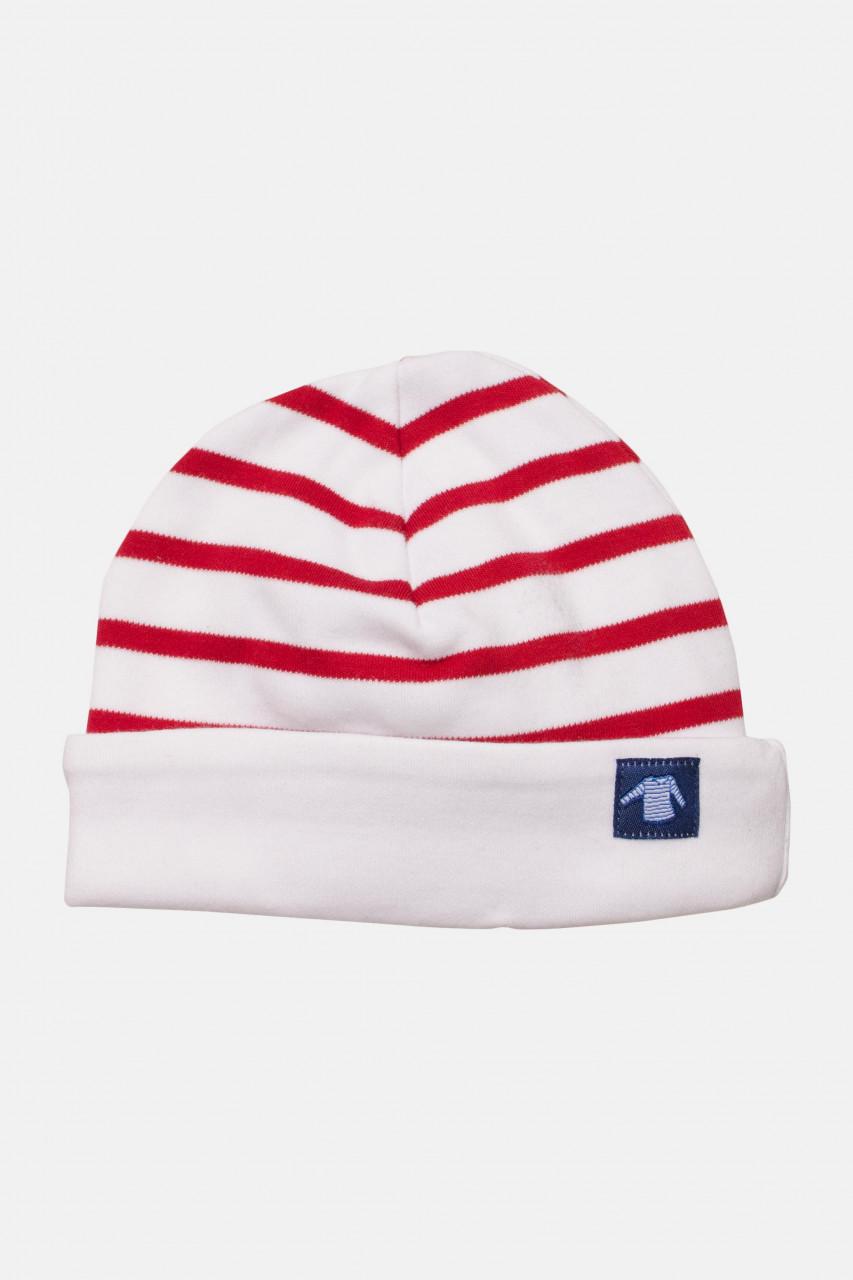 Armor Lux Baby-Mütze weiß-rot