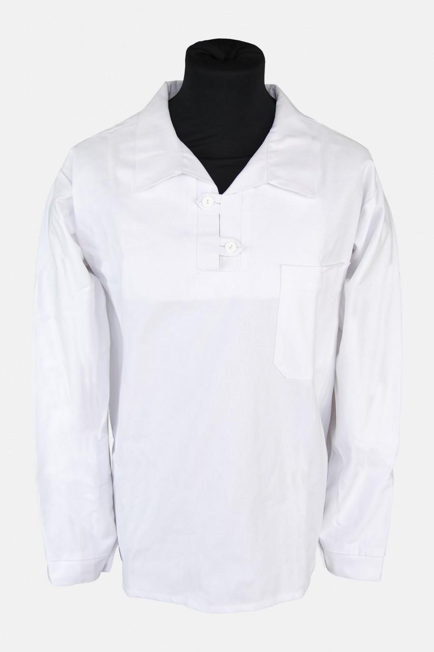 Französisches Takelhemd - weiß